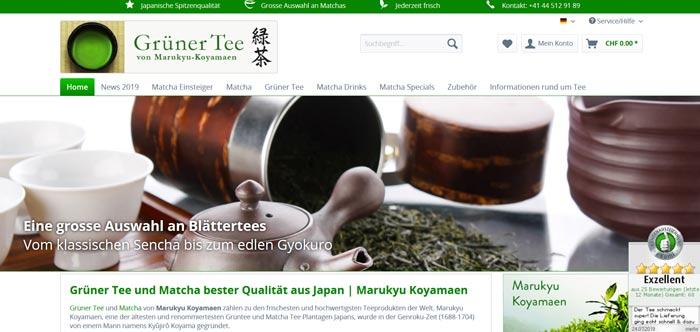 Jetzt Matcha Tea Online kaufen
