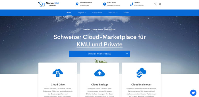 Schweizer Cloud-Marktplatz für Privat und Business